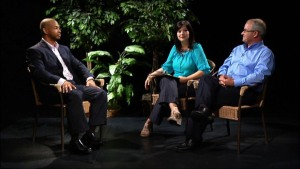 Appearing in a video segment for Every-Member Ministry are (l. to r.): Dr. Kevin W. Earley, Rev. Ann E. Brandon, and Rev. Johnny L. Newton.